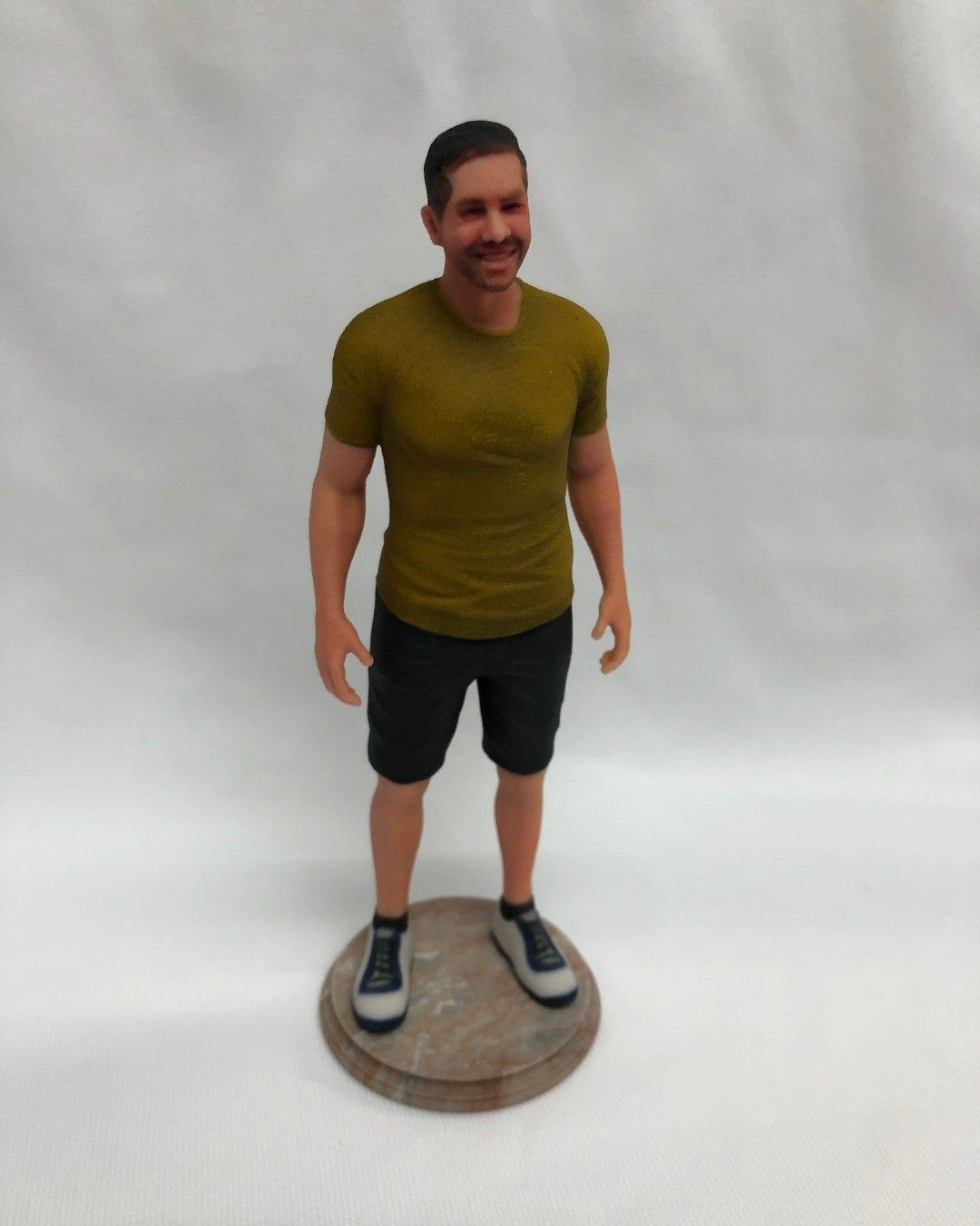 3D Selfie Figurines   From photos to Custom Exact 3D Printed Figurine of you or your loved ones!  NO PHYSICAL SCAN OR VISIT TO ANY STORE NEEDED!  4 Photos are all we need to make the Figurine!  #3dprint #3dprinting #3dprinted #3dprintdesign #3dprintdesigners #3dprintpeople #3dprintinsandstone #3dmodelling #3dselfiefigurines #3dfigurines #3dprintingworld #3dminiaturemodel #giftshop #giftscart #giftsgallery #friendshipgift #friendshipgifts #friendshipgiftstore #friendshipgiftidea #friendshipgiftde