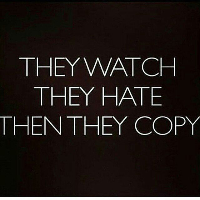 Truth of the matter Jealousy quotes, Copying quotes