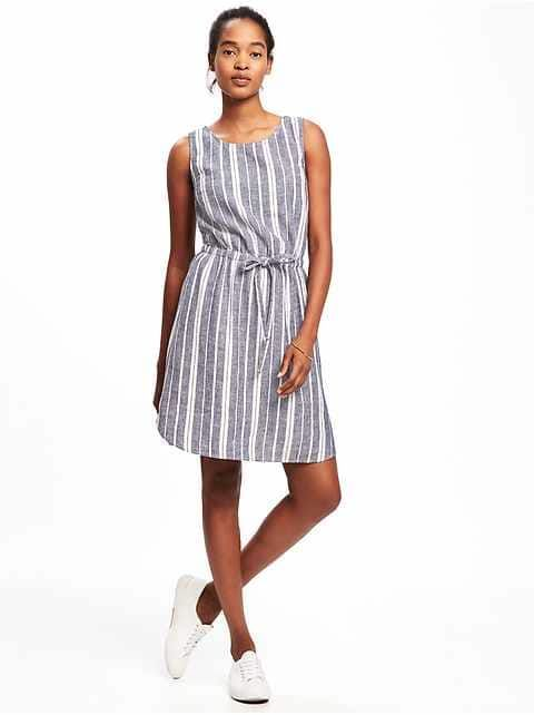 ad9446a8 Petite:Dresses|old-navy | cher | Dresses, Striped dress, Dresses for ...