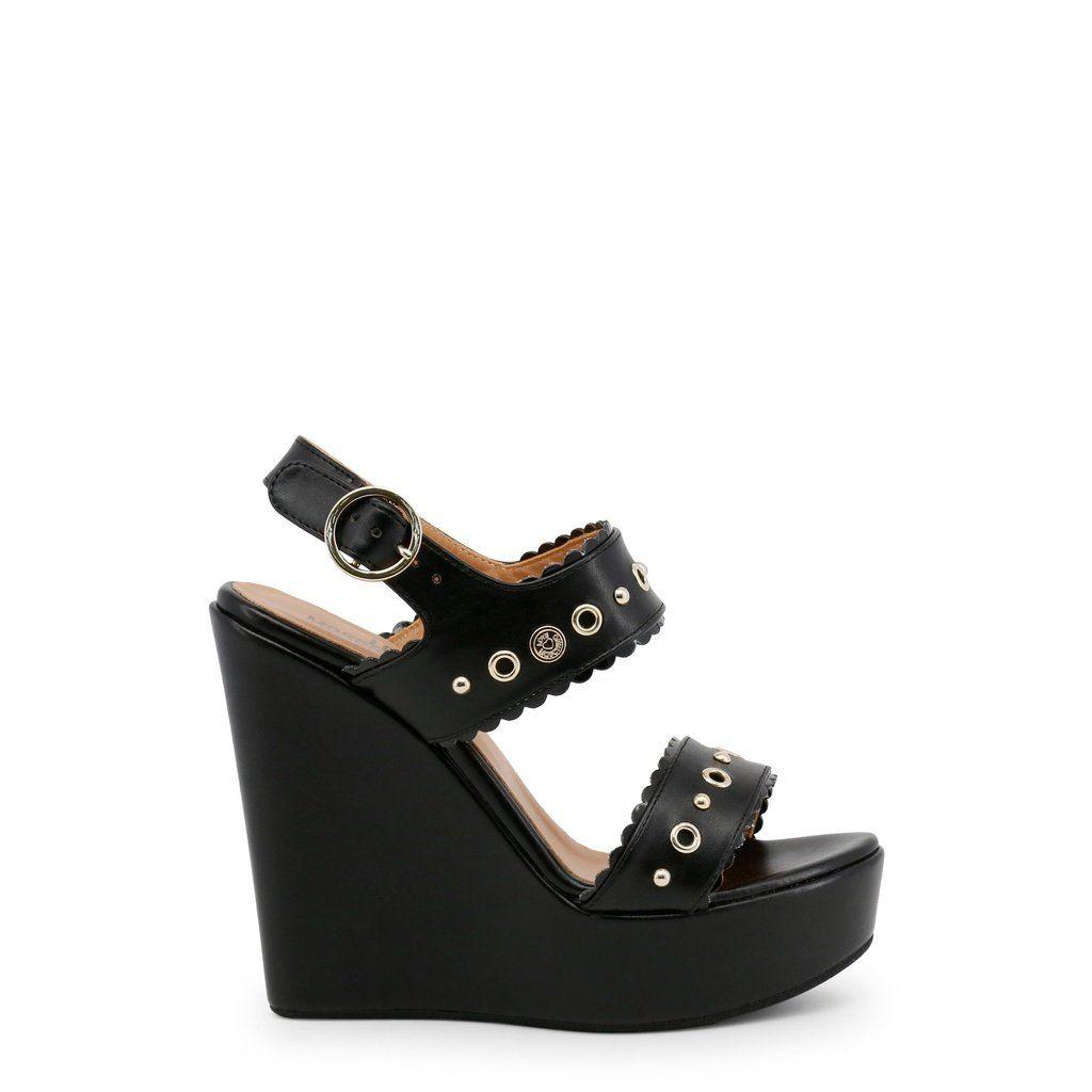 f6e324a8c4b Love Moschino JA1604CE15IA. Love Moschino High Wedge Sandal ...