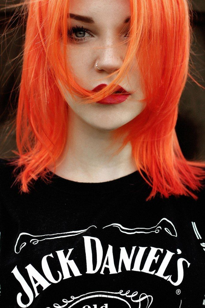 I miss my orange hair so much! To this day it is still my favorite of all the colors I've had. (I think Justin's favorite is the bright pink though)