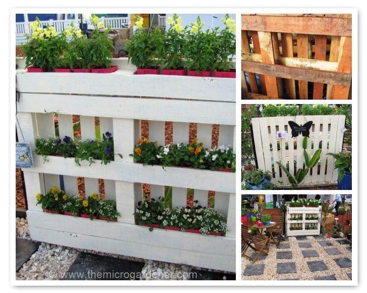 Diy Pallet Planter Pallets Garden Planters Backyard Fences 400 x 300