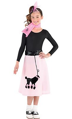 Girl S Poodle Skirt
