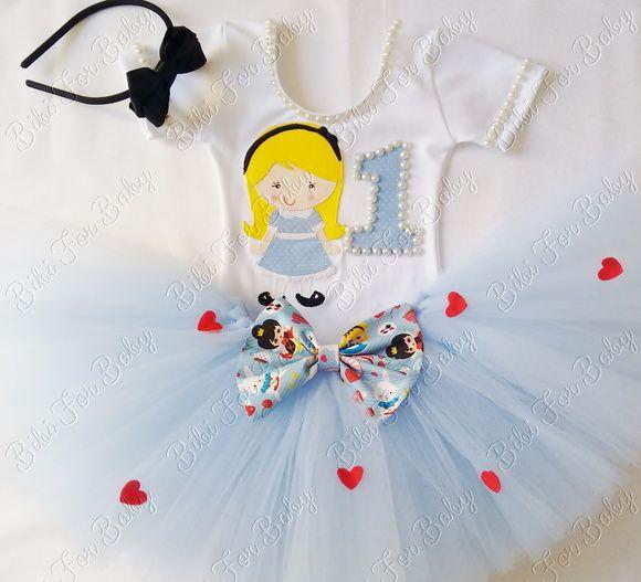 Fantasia Alice No Pais Das Maravilhas Com Imagens Vestido