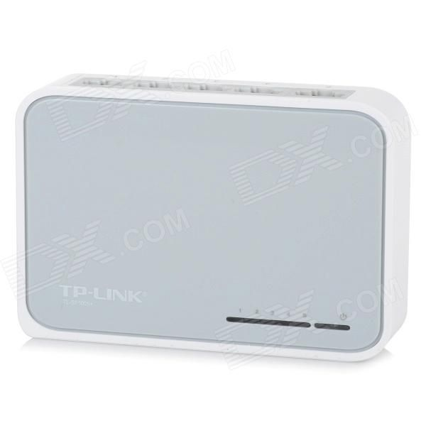 TL-SF1005+ ethernet switch provides 5-port 10/100Mbps, desktop design. Mini size and lightweight, easy to operate. Suitable for small office and home network. http://j.mp/1q1kSn7