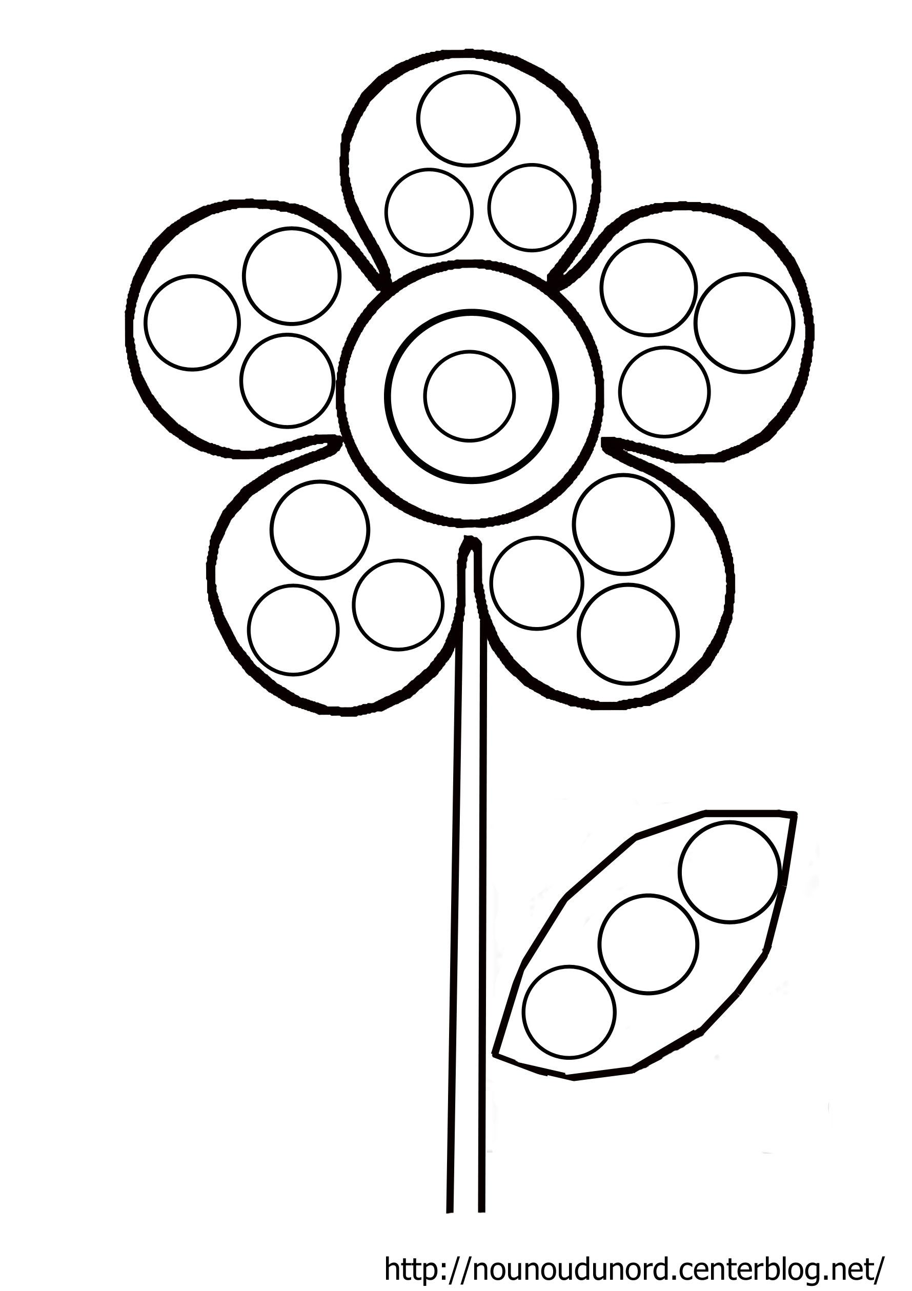Image du blog activit s enfants pinterest coloriage fleur - Image du printemps a colorier ...
