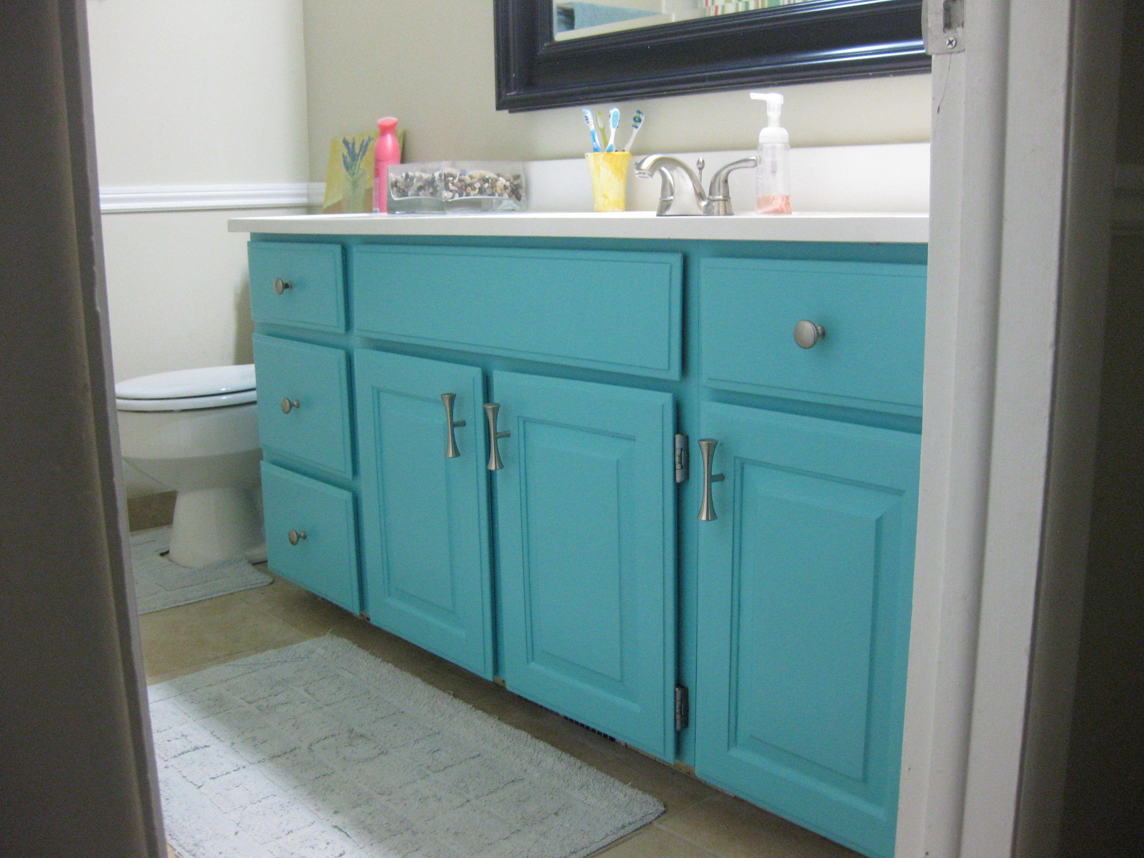 Pin By Jennifer Bateson On My Style Painted Vanity Bathroom Bathroom Vanity Bathroom Furniture Vanity