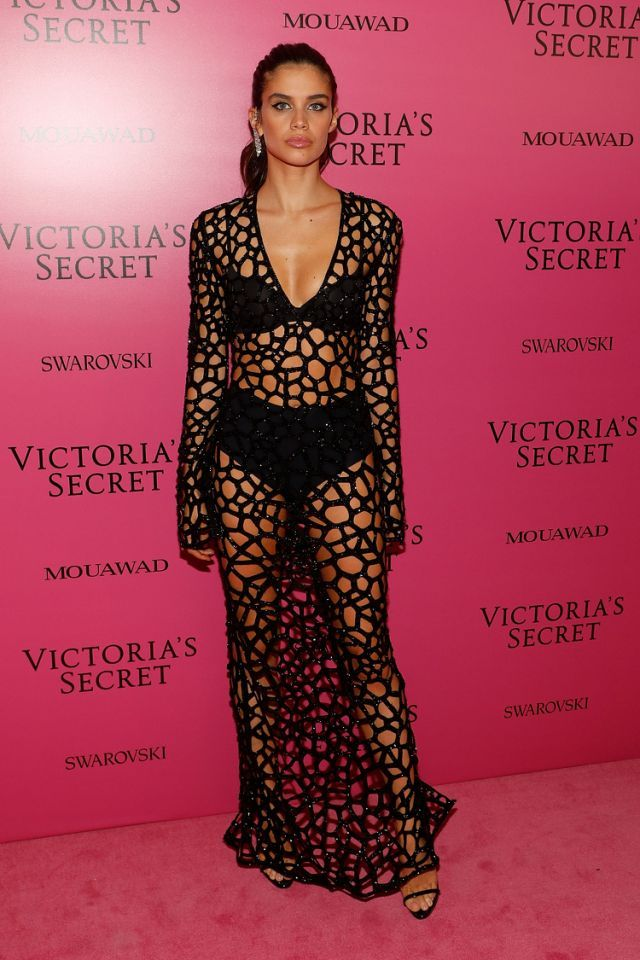d6b8c76f1e8 ... shut down by Shanghai police. Sara Sampaio Pictures and Photos. Sara  Sampaio at the Victoria s Secret 2017 after party