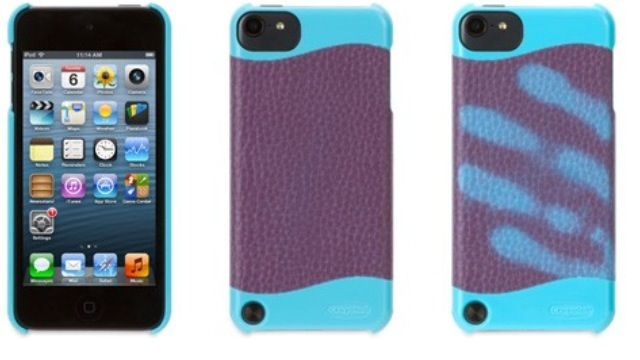 Crayola ColorChangers Case for iPod touch (5th gen.) This hard shell case for your iPod changes colors when you hold it, thanks to a specially treated outer layer activated by body heat $29.99