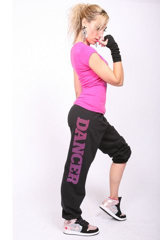 Dancer Sweatpants - Black