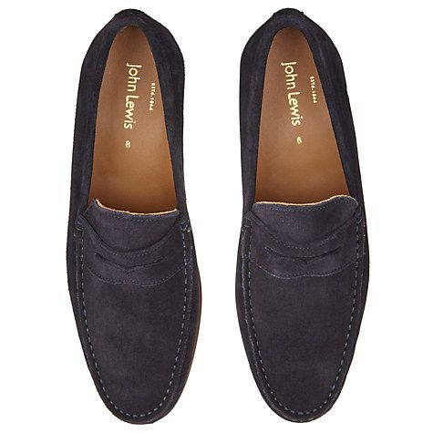 22aa930a039 Buy John Lewis Lloyd Suede Penny Loafers Online at johnlewis.com