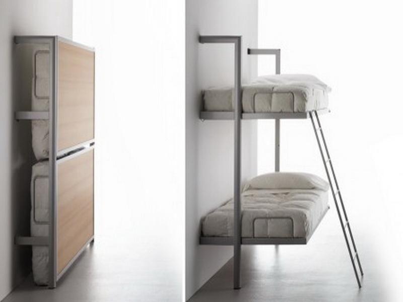 Wall Mounted Folding Bunk Beds Murphy Bed Bunk Beds