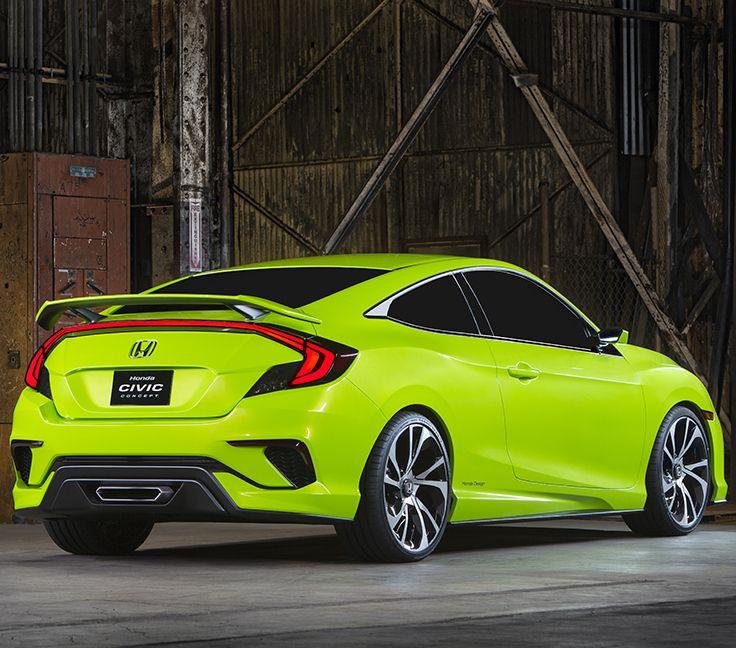 Honda Civic 2016 Concept un futuro más deportivo es