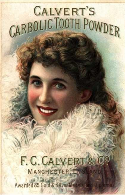Teeth whitening vintage style Vintage