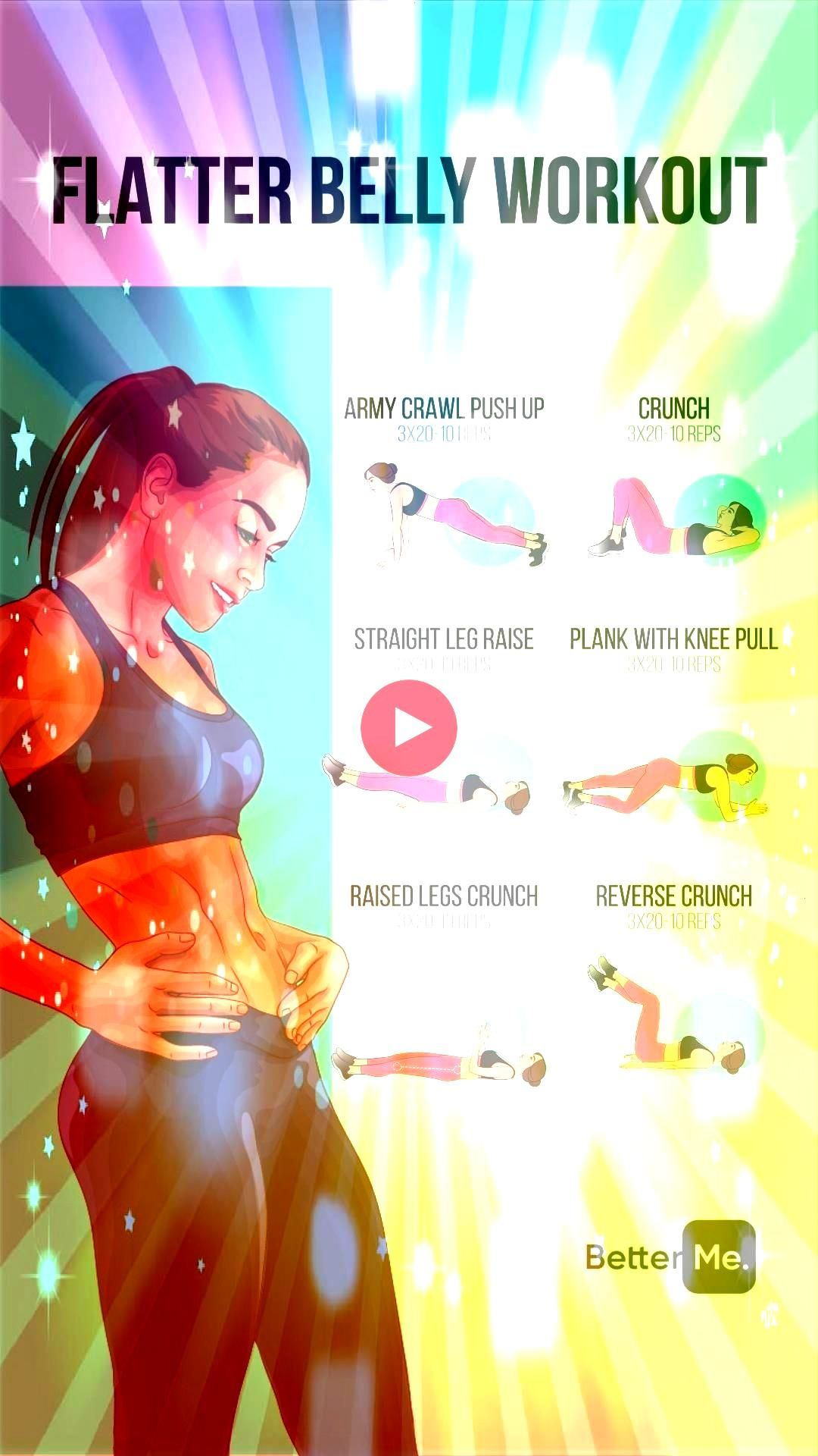 workout Flatter Belly WorkoutFlatter Belly Workout At Home Ab workout credit IG dannibelle Experience the Worlds Largest Library of Audiobooks Exclusive Fitness  Weight l...