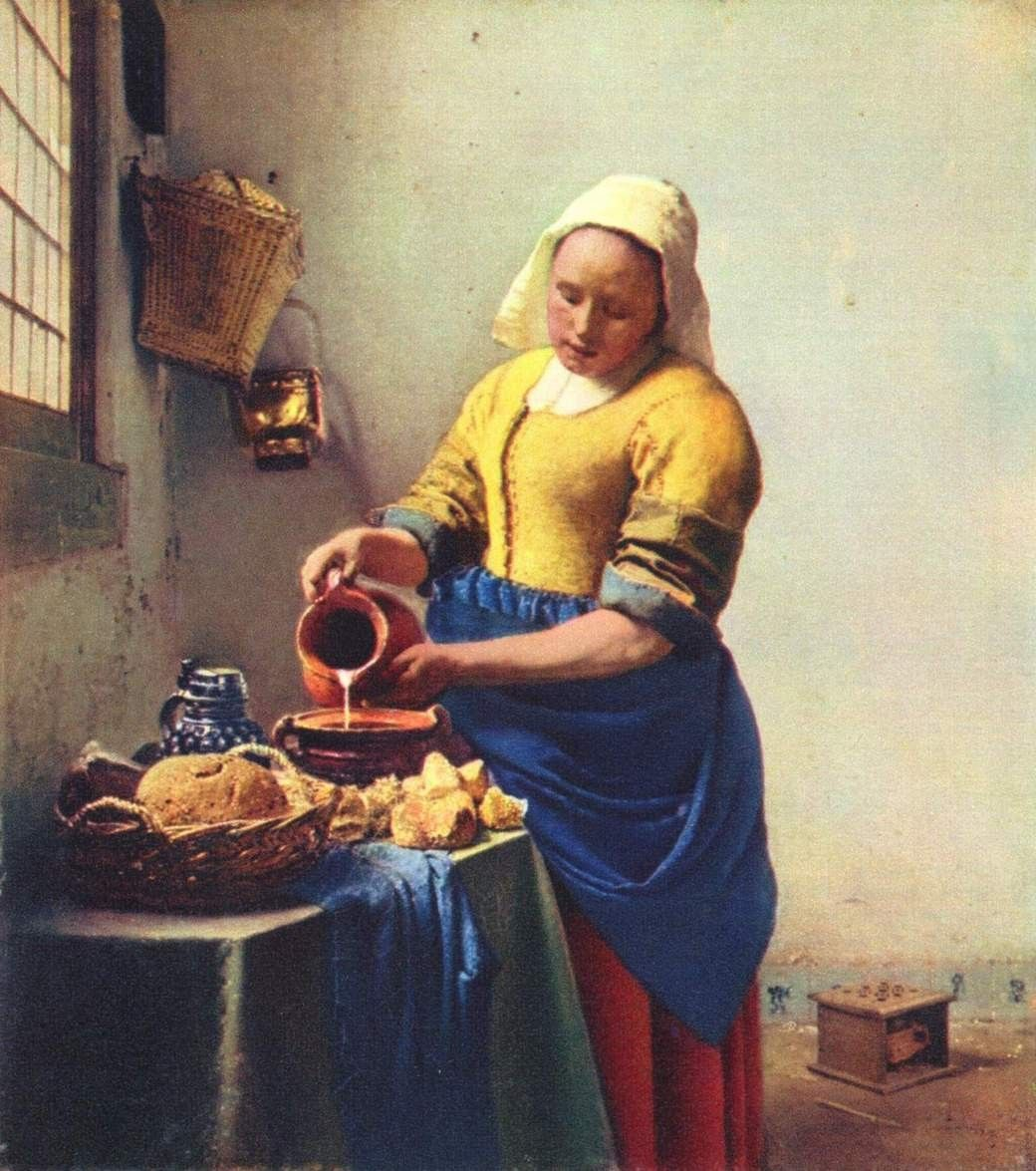 vermeer paintings | Johannes Vermeer Paintings - Johannes Vermeer ...