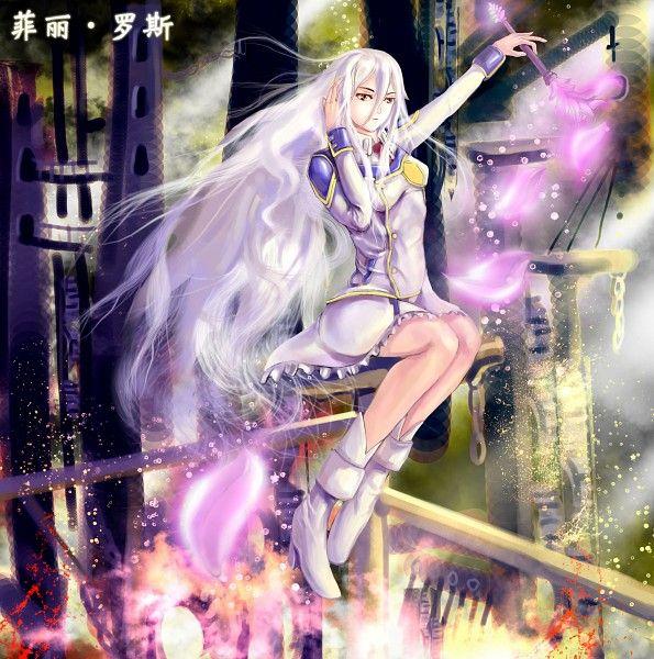Tags: Anime, Fanart, Chrome Shelled Regios, Felli, Pixiv
