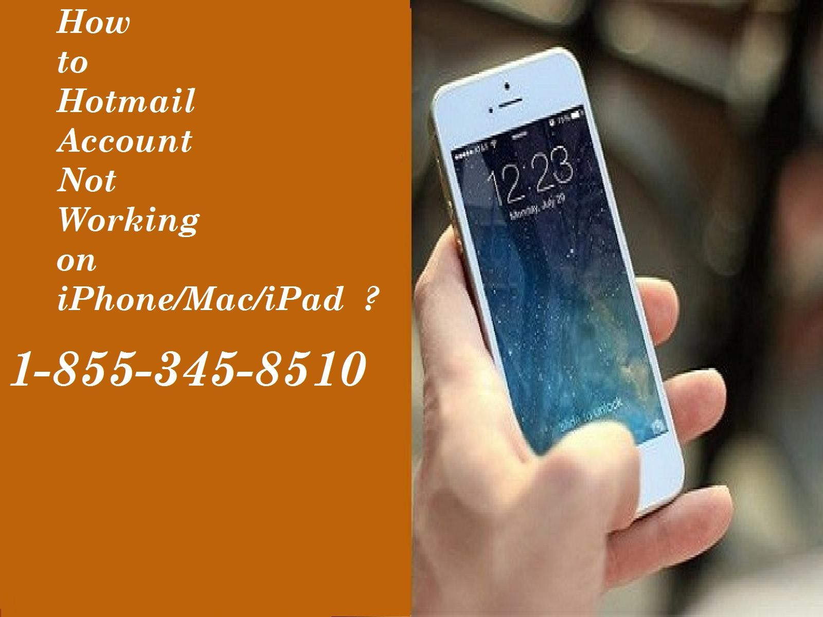 If you are facing Hotmail Account Not Working on iphone
