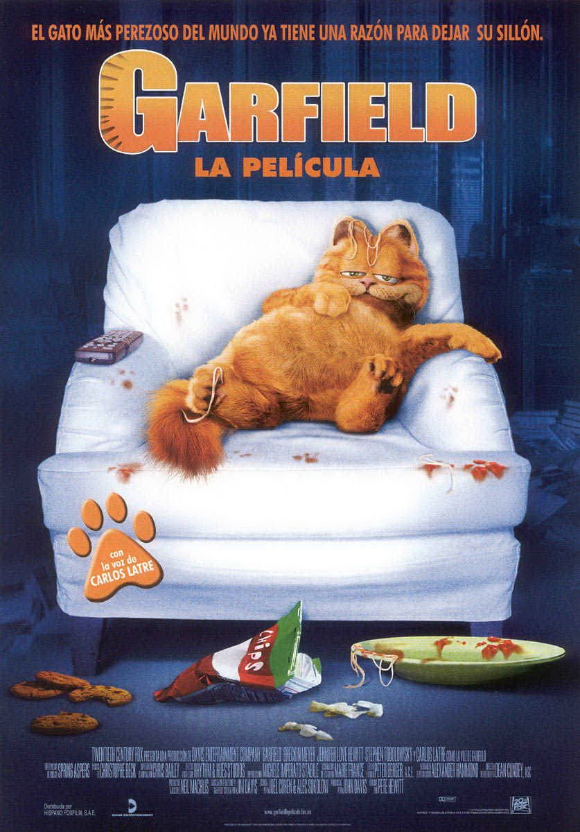 Garfield La Pelicula Garfield La Pelicula Garfield Peliculas
