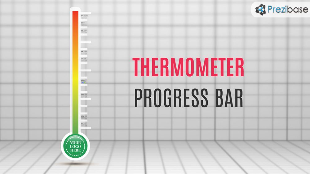 thermometer progress bar chart prezi presentation template Prezi - what is a bar chart