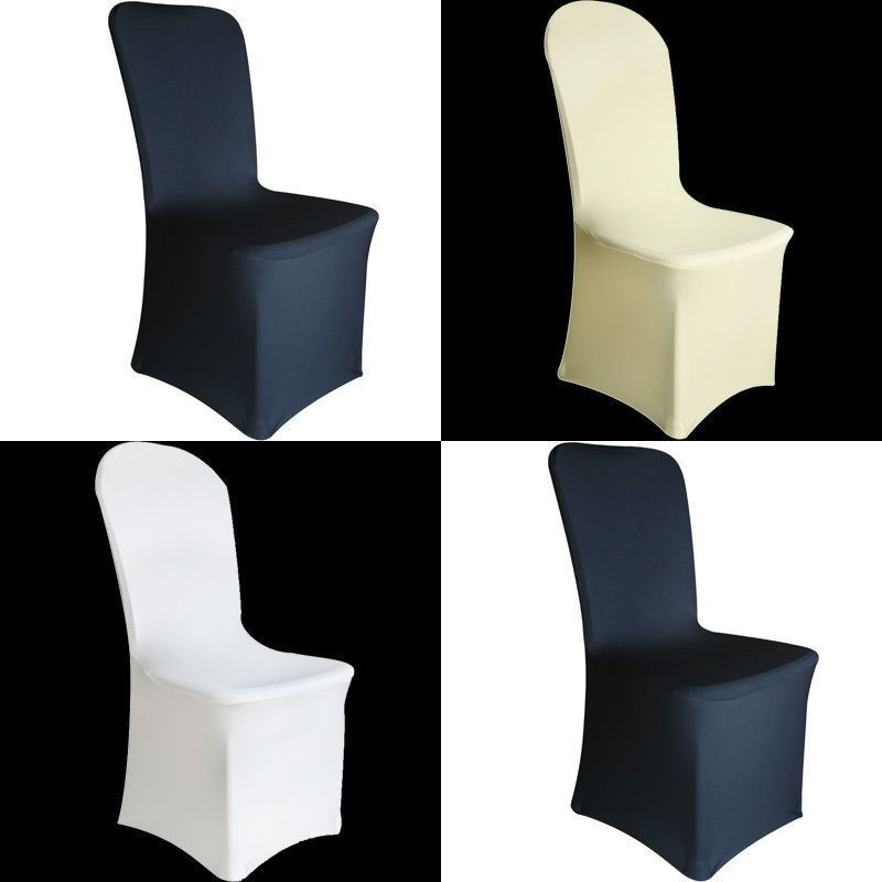 Prime 50 100 Universal Wedding Chair Covers Polyester Spandex Flat Andrewgaddart Wooden Chair Designs For Living Room Andrewgaddartcom