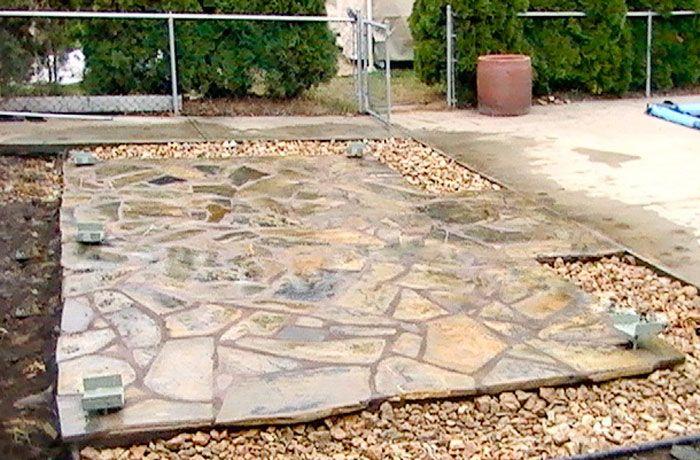 Good Granite Patio   Natural Stone Patio