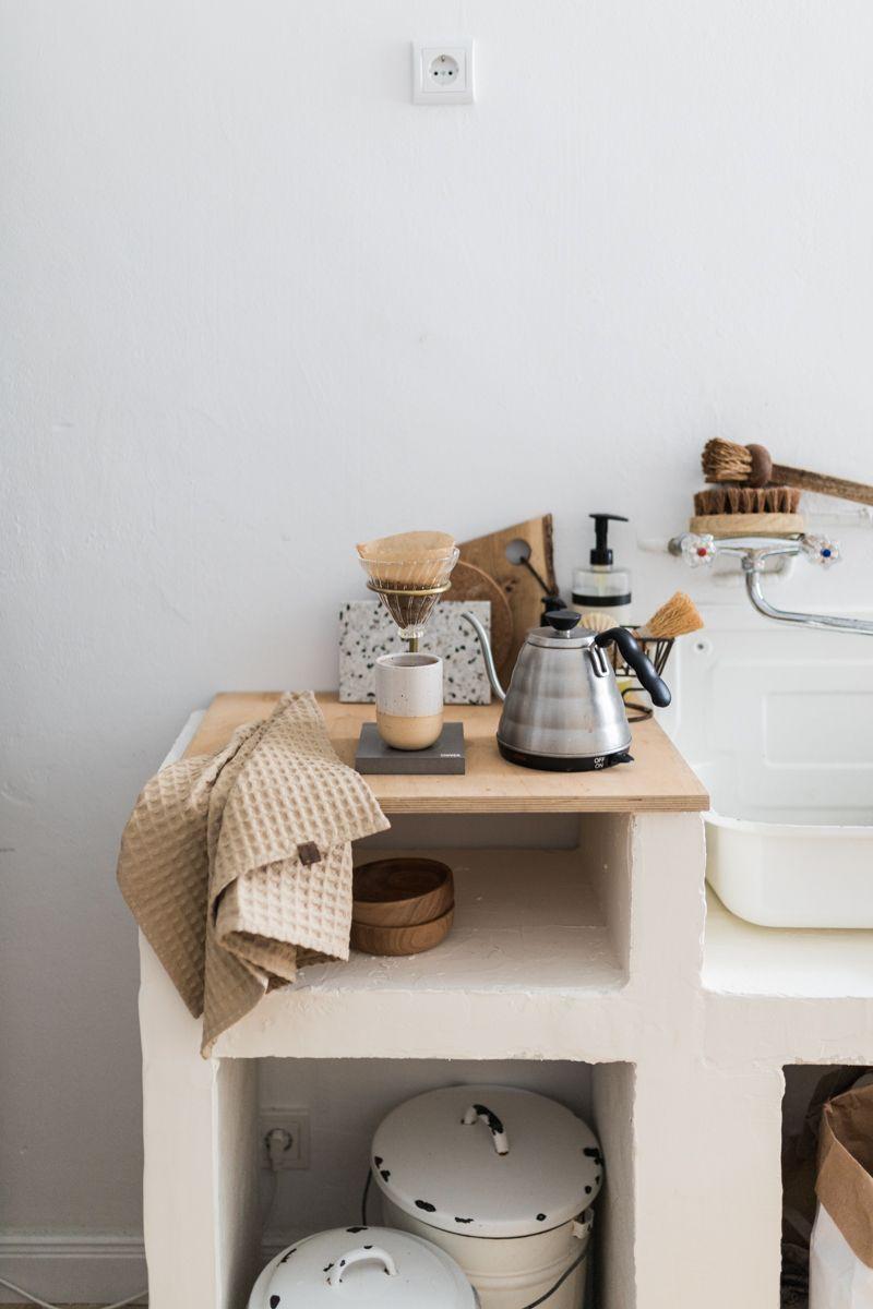 Komm, wir mauern uns eine Küchenzeile Ein DIY Spültisch