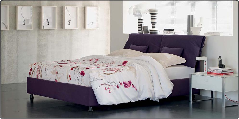 Letto Natalie Flou   our home - bedroom   Pinterest   Tessili ...