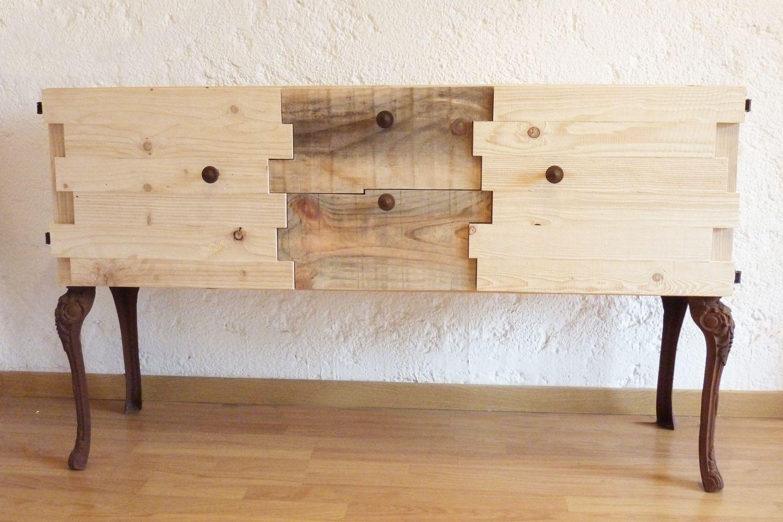 Idee für küchenregal: fach!!! Commode en bois recyclés | DIY ...