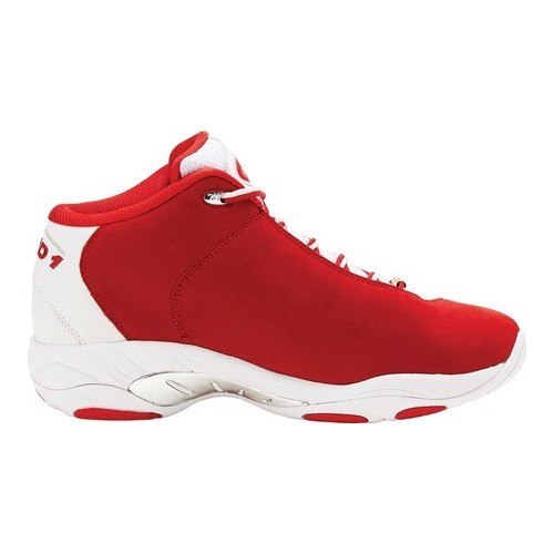 27abd79b7e8a AND1 Mens Mirage Basketball Shoe 7 Red White