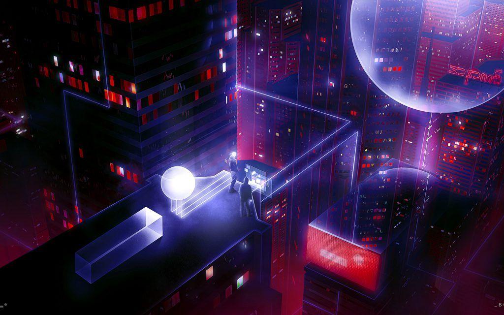 Iphone X Wallpaper Screensaver Background 192 Cyberpunk 4k