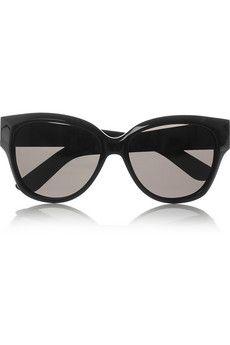 c19d5e153a98a Yves Saint Laurent D-frame acetate sunglasses