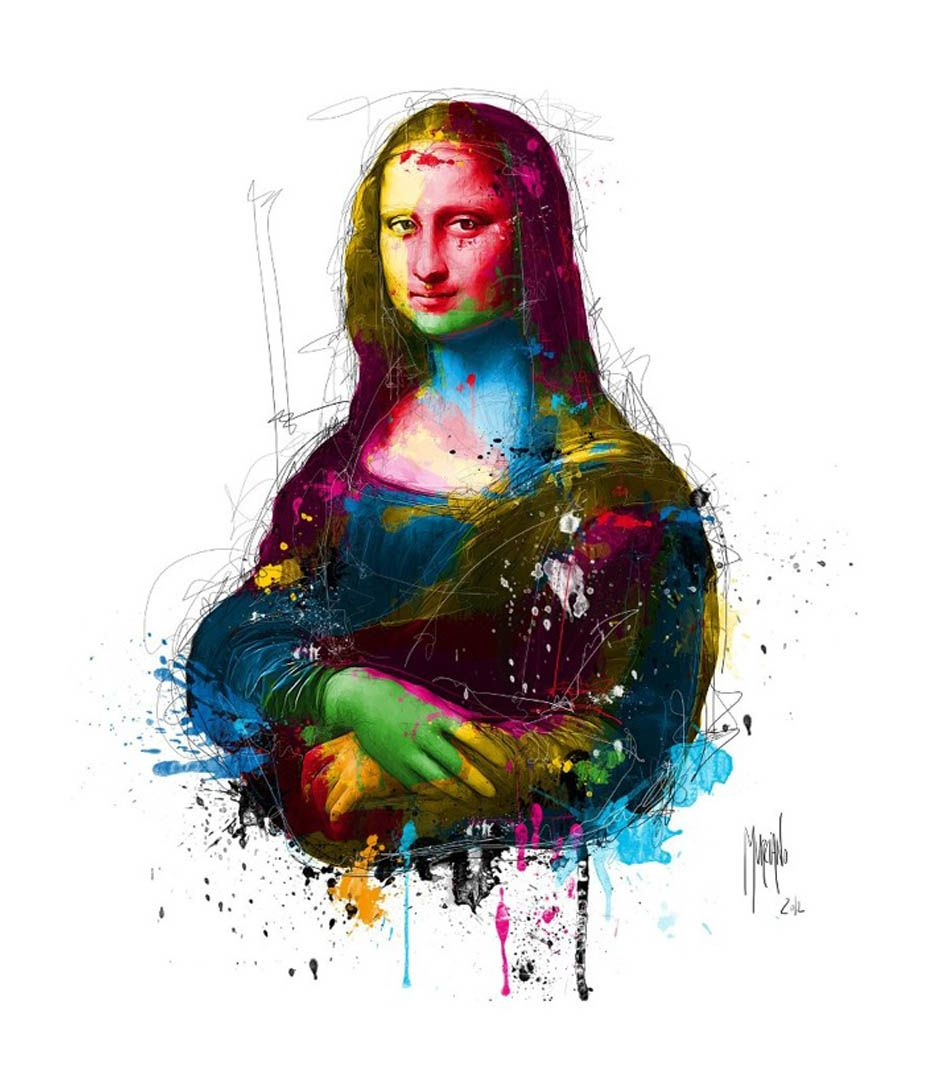"""Extrêmement Admirable """"Pop Grunge"""" paintings by French artist Patrice Murciano  NS22"""