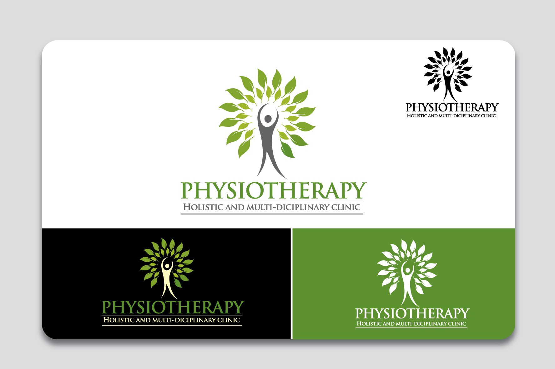 Physiotherapist Clinic logo | Logo and Branding Designs ...