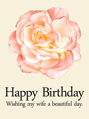 original birthday wishes for your wife