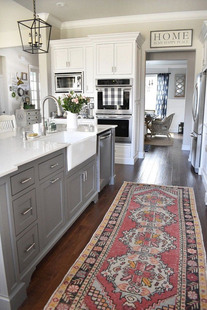 123 Cozy And Chic Farmhouse Kitchen Cabinets Ideas 16