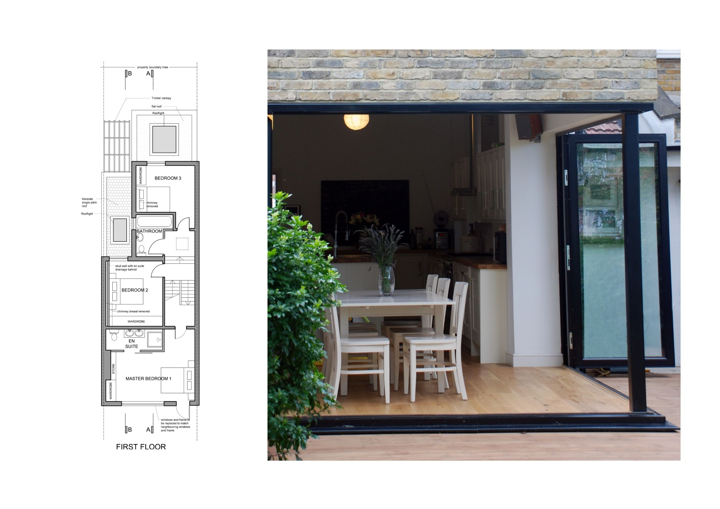 Small house design on terrace house plan design house design ideas 0d - House Extension In East Finchley Barnet By Goa Studios An Award Winning Residential Architecture Firm Based In London Project Spec And Gallery
