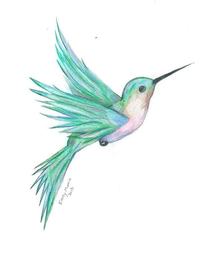 Pin de Sandy Potter en Tattoo   Pinterest   Colibri, Pájaro y Acuarela