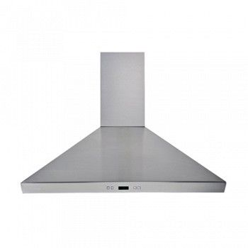 The Cavaliere Sv218f Wall Mounted Range Hood From Cavaliere Rangehoods Is Available In 36 And 900 Cfm It Has Si Wall Mount Range Hood Steel Wall Range Hood
