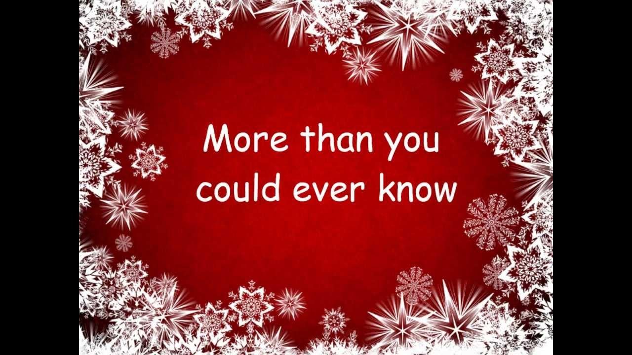 All I Want For Christmas is You (Lyrics) Mariah Carey