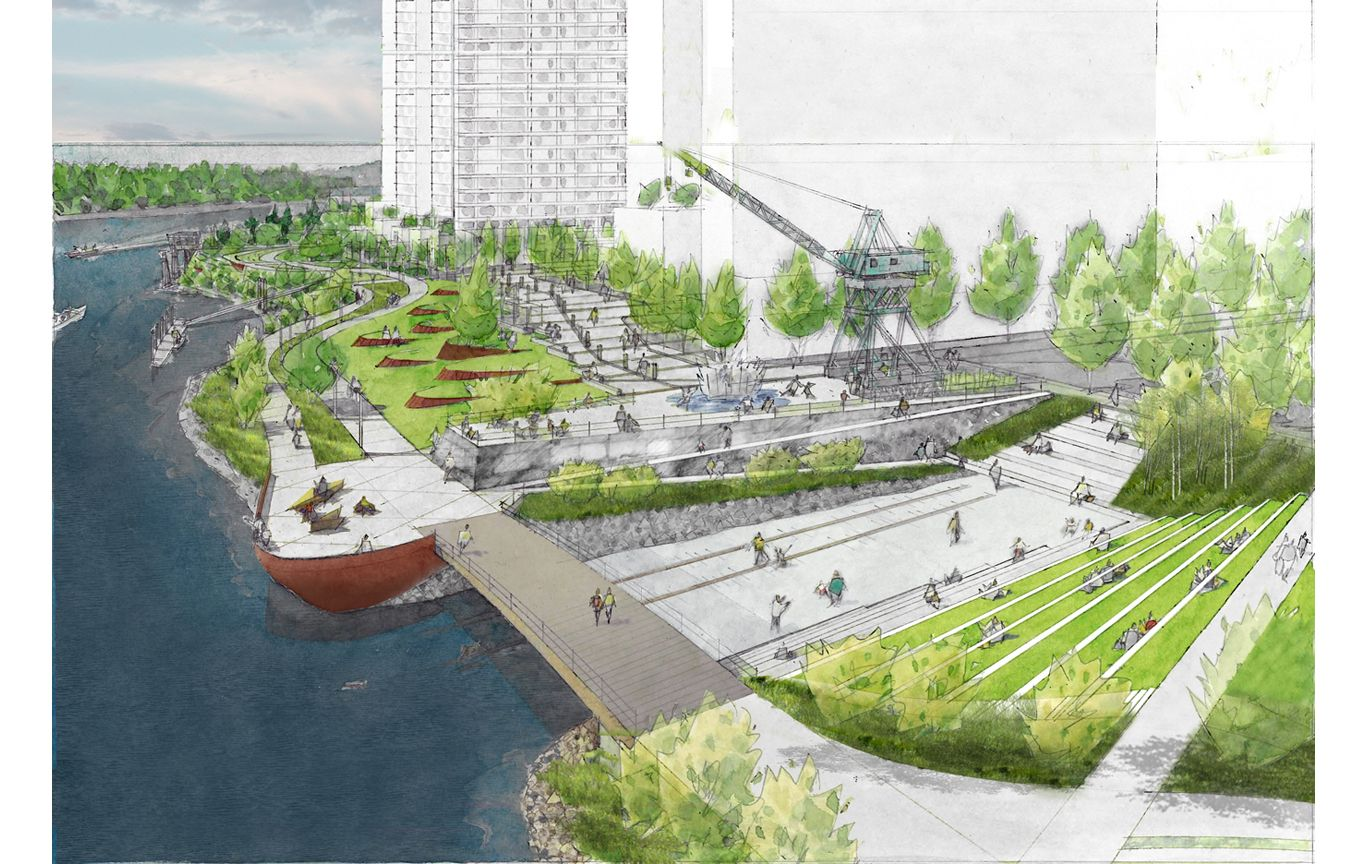 South Waterfront Greenway, Portland | Studioish | Pinterest ...