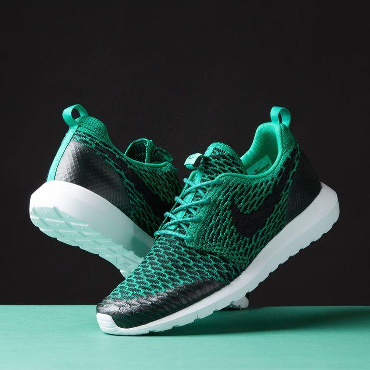 Shelflife Online Store | Buy Nike Roshe One Flyknit Rough Green 746825-300  online | Step in the name Love | Pinterest | Nike roshe, Roshe and Footwear