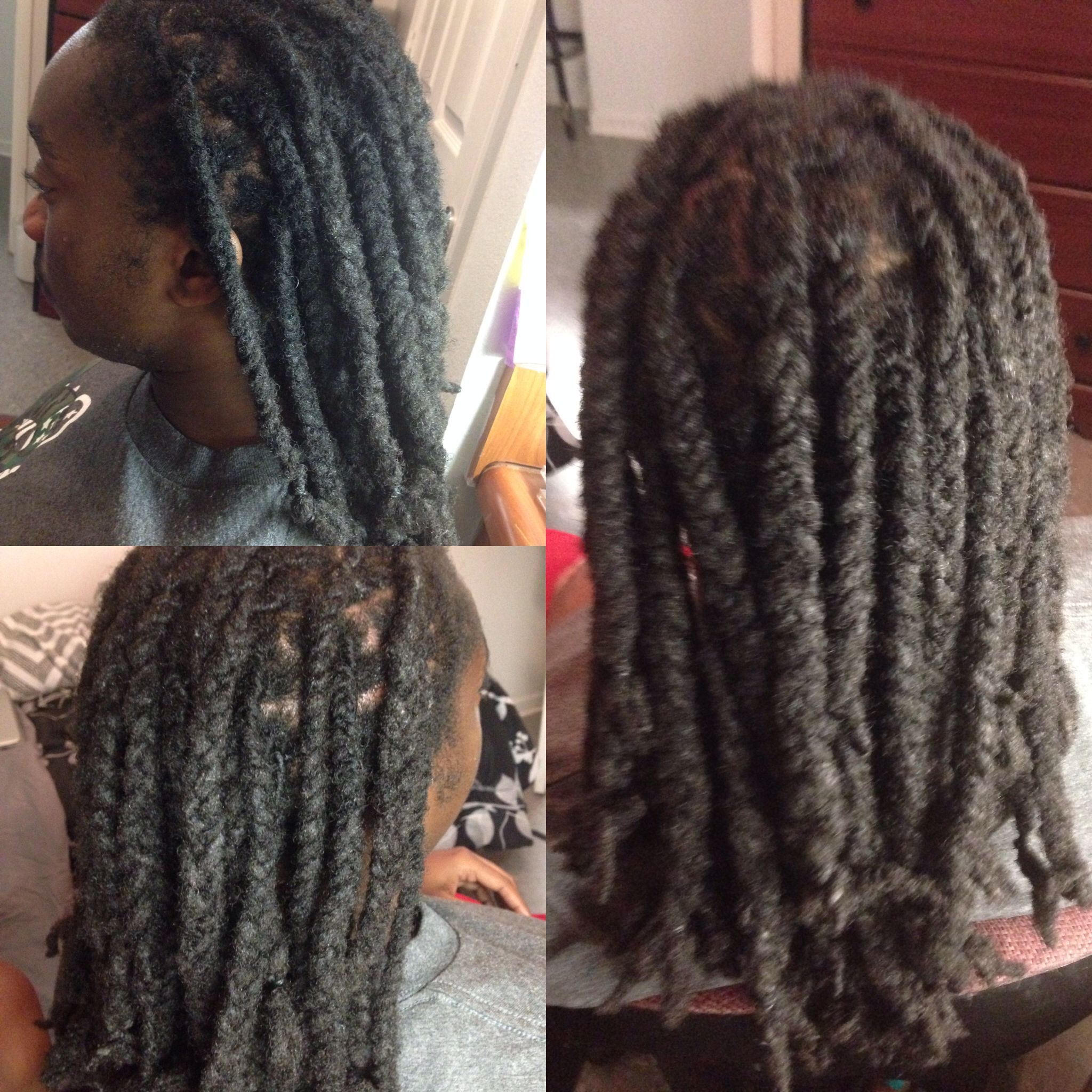 Dread Retwist And Revive Plaited Done By Me Plaits Dreads Hair Styles