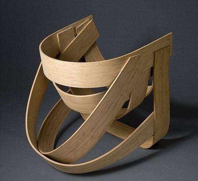 Designer Möbel Rückenlehne ergonomisch Holy Bambus | Chairs ...