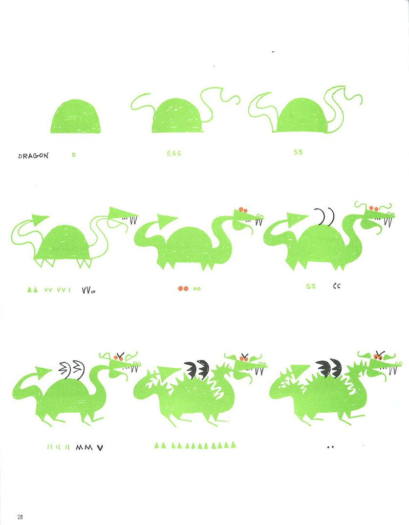 Dragon: Ed Emberley's 'drawing Book Of Animals'