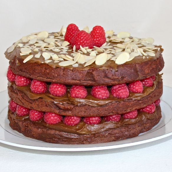 Sweet potato choc vegan cake