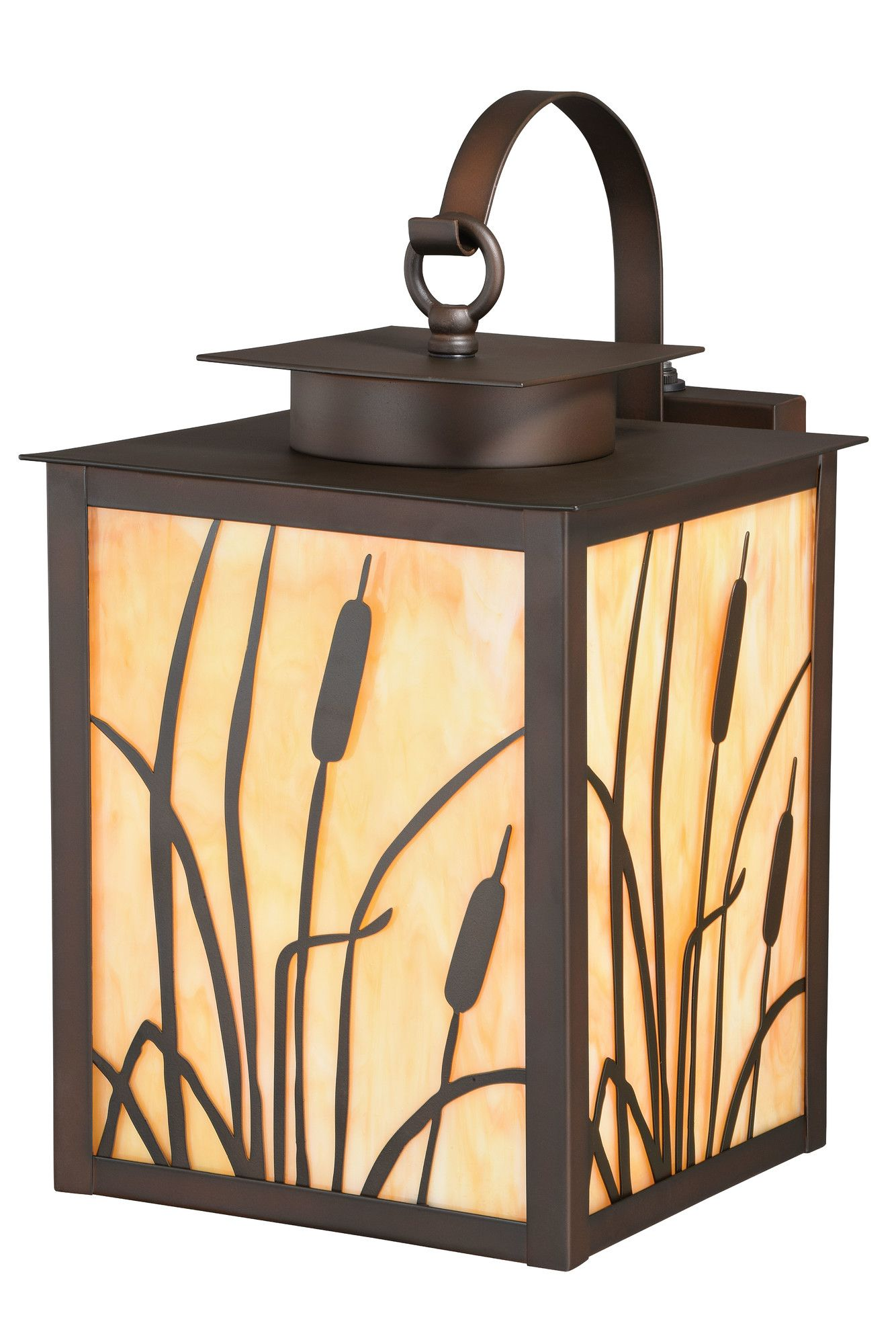 Bulrush Outdoor Wall Lantern | Products | Pinterest | Outdoor wall ...