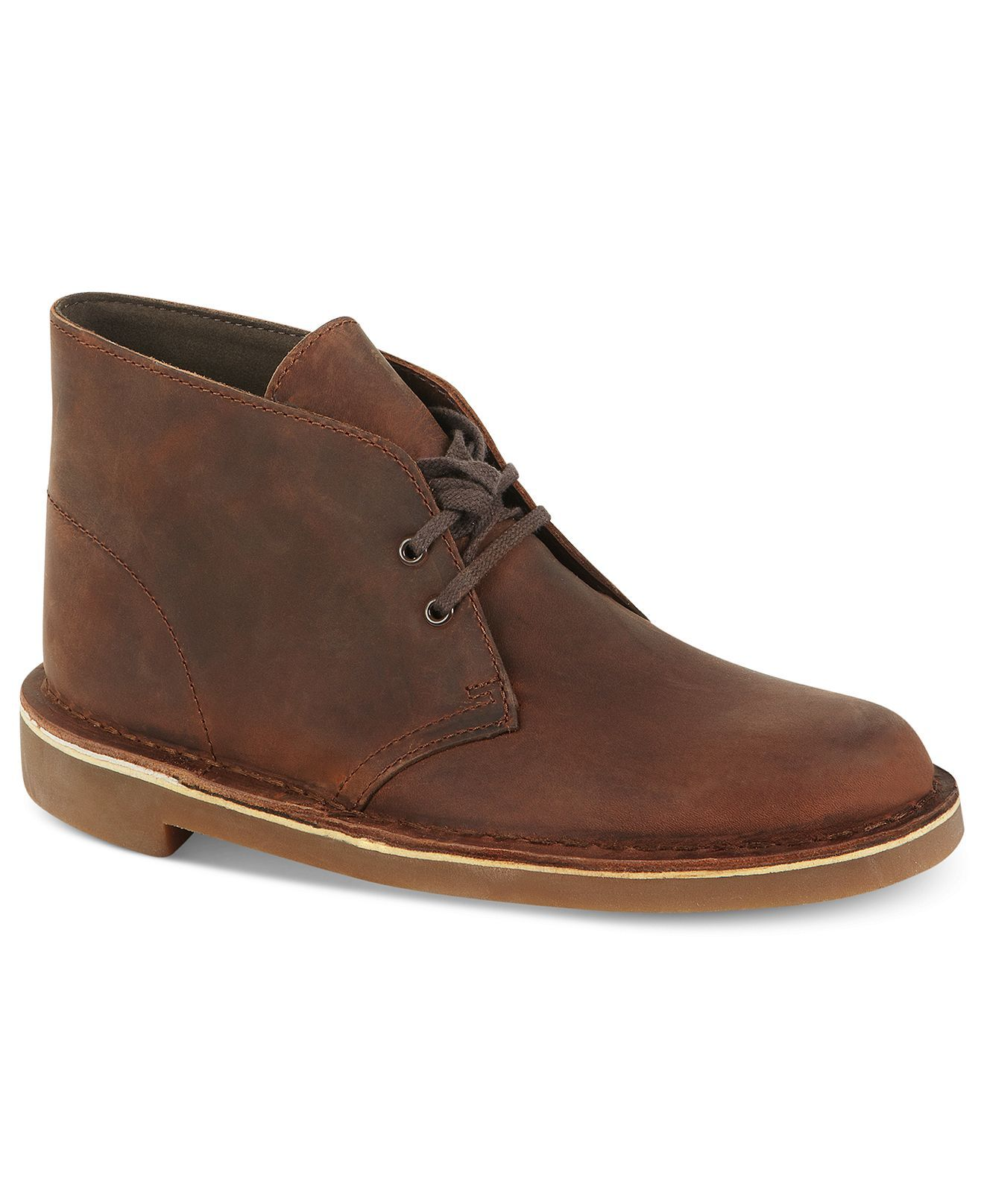 Clarks Mens Bushacre 2 Chukka Boot Brown