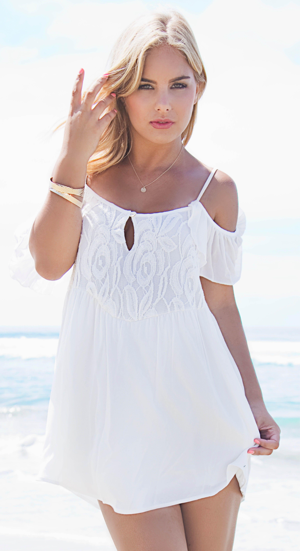 523effea79e0 Pin do(a) Dainty Hooligan em Dresses | Dresses, White dress e Fashion