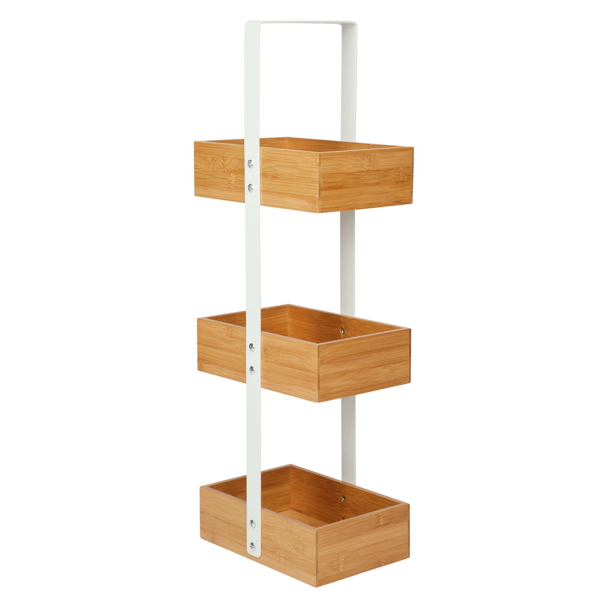 House By John Lewis Bamboo 3 Tier Bathroom Caddy House By John Lewis Bathroom Caddy Bamboo